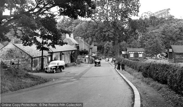 Photo of Mitford, The Village 1954