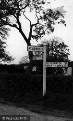 Mithian, Sign Post c.1960