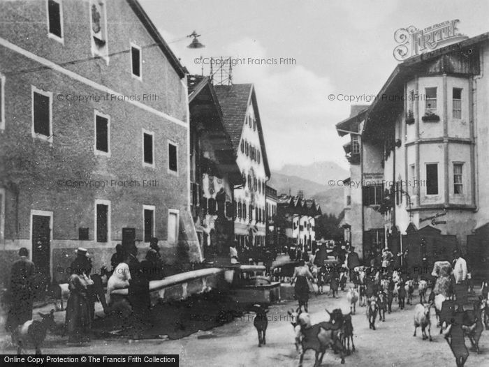 Photo of Mittenwald, Back From The Pasture c.1930