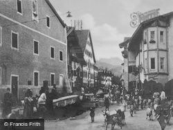 Back From The Pasture c.1930, Mittenwald