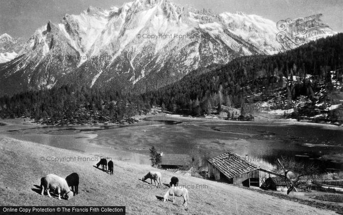Photo of Mittenwald, Lautersee, 1010m c.1930