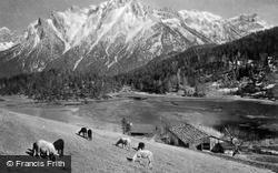 Lautersee, 1010m c.1930, Mittenwald