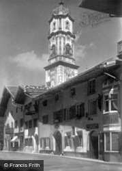 The Church c.1930, Mittenwald