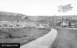 Mixenden Road c.1960, Mixenden