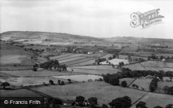 Mixenden, View From Hunter Hill c.1960