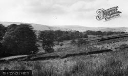 Wheatley Valley Towards Ogden c.1960, Mixenden