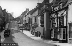 Church Street c.1950, Modbury