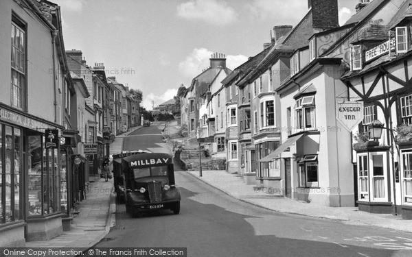 Modbury, Church Street c1955