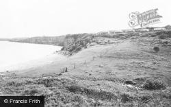 Moelfre, Caeaugleisioiy Caravan Site c.1960