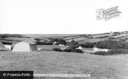 Moelfre, Caravan And Camping Site At Melin Rhos Farm c.1965