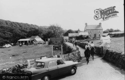 Horse And Pony Riding At Melin Rhos Farm c.1965, Moelfre
