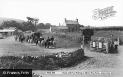 Moelfre, Horse And Pony Riding At Melin Rhos Farm c.1965