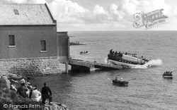 Launching Of The Lifeboat c.1960, Moelfre