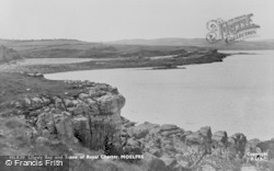Moelfre, Lligwy Bay And Scene Of Royal Charter c.1936