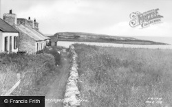 Moelfre, Old Cottages c.1955