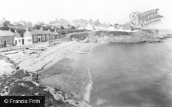 Moelfre, The Beach c.1946