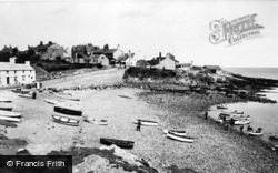 Moelfre, The Beach c.1960