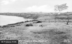 Moelfre, The Caravan Site c.1960