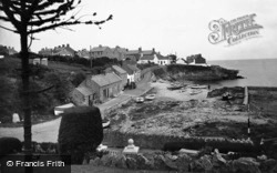 Moelfre, The Harbour c.1936