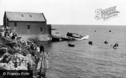 Moelfre, The Lifeboat c.1960