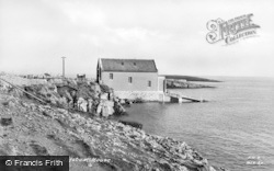 Moelfre, The Lifeboat House c.1936