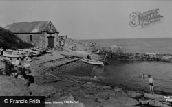 Moelfre, The Old Lifeboat House c.1960