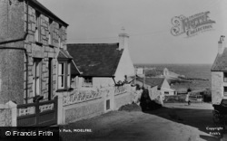 Moelfre, View From Pedlar's Pack c.1955