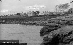 Moelfre, View From The Rocks c.1936