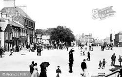 Moffat, High Street 1890