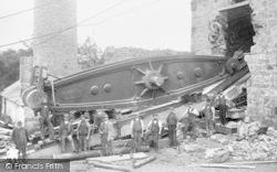 Mold, Cat Hole Mine, Beam Engine c.1900