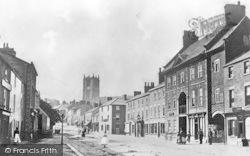 Mold, High Street 1861