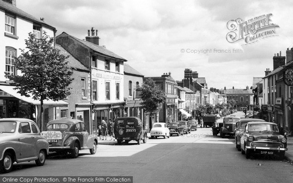 Photo of Mold, High Street c.1960