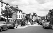 Mold, High Street c1955