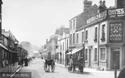 Mold, New Street c.1900