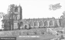 Mold, St Mary's Church c.1960