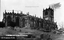 Mold, The Church c.1955