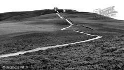 Mold, The Last Half Mile To Moel Famau c.1960