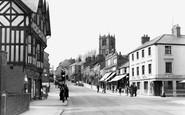 Mold, Upper High Street c1955