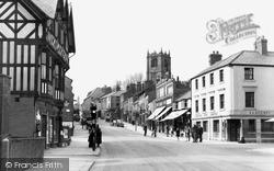 Mold, Upper High Street c.1950