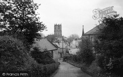 Mold, View From The Hill c.1950