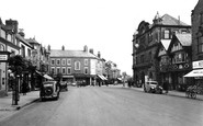 Mold, Wrexham Road c1955