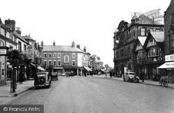 Mold, Wrexham Road c.1955