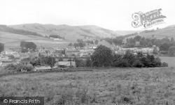 Moniaive, From Dunreggan Brae c.1960