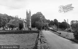 Moniaive, Glencairn Church c.1960