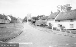 Monks Eleigh, Church Hill c.1960