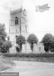 Monks Eleigh, The Church c.1960