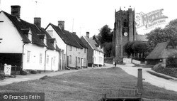 Monks Eleigh, The Village And Church c.1965