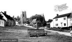 Monks Eleigh, The Village c.1960
