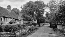 Burton Lane c.1955, Monks Risborough