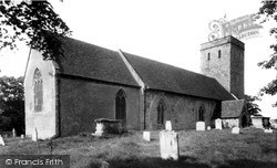 Monkton, Church Of St Mary Magdalene c.1960